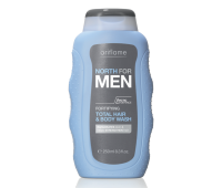 North For Men Fortifying Total Hair & Body Wash -  Oriflame